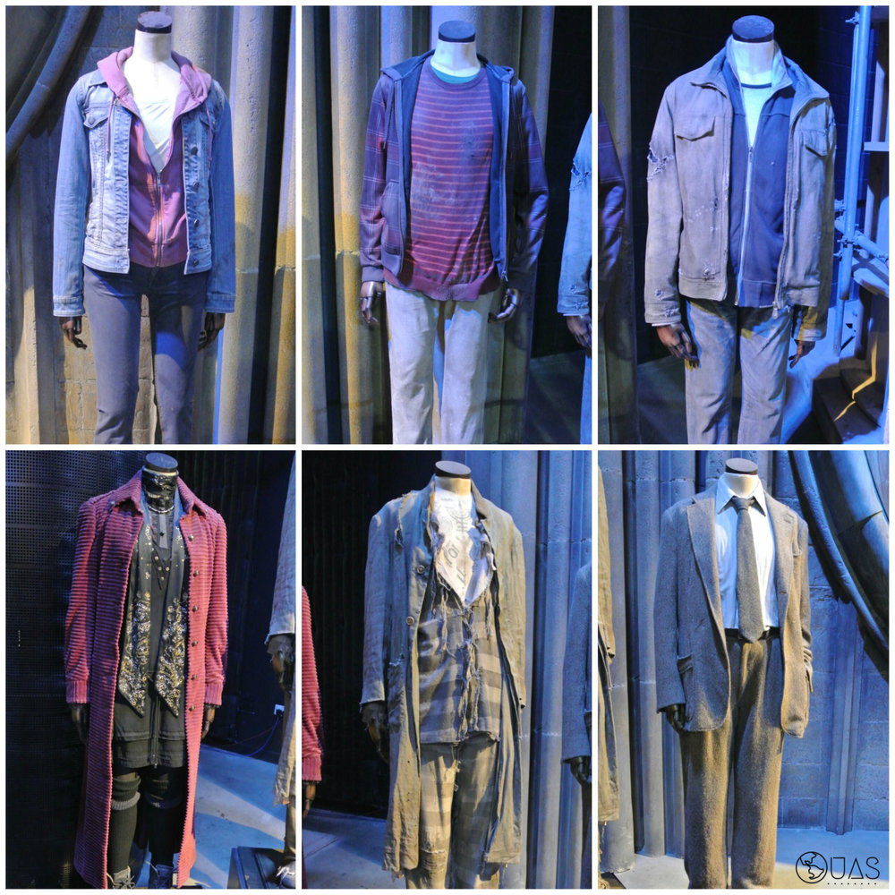 Deathly Hallows (trio) & Order of the Phoenix costumes