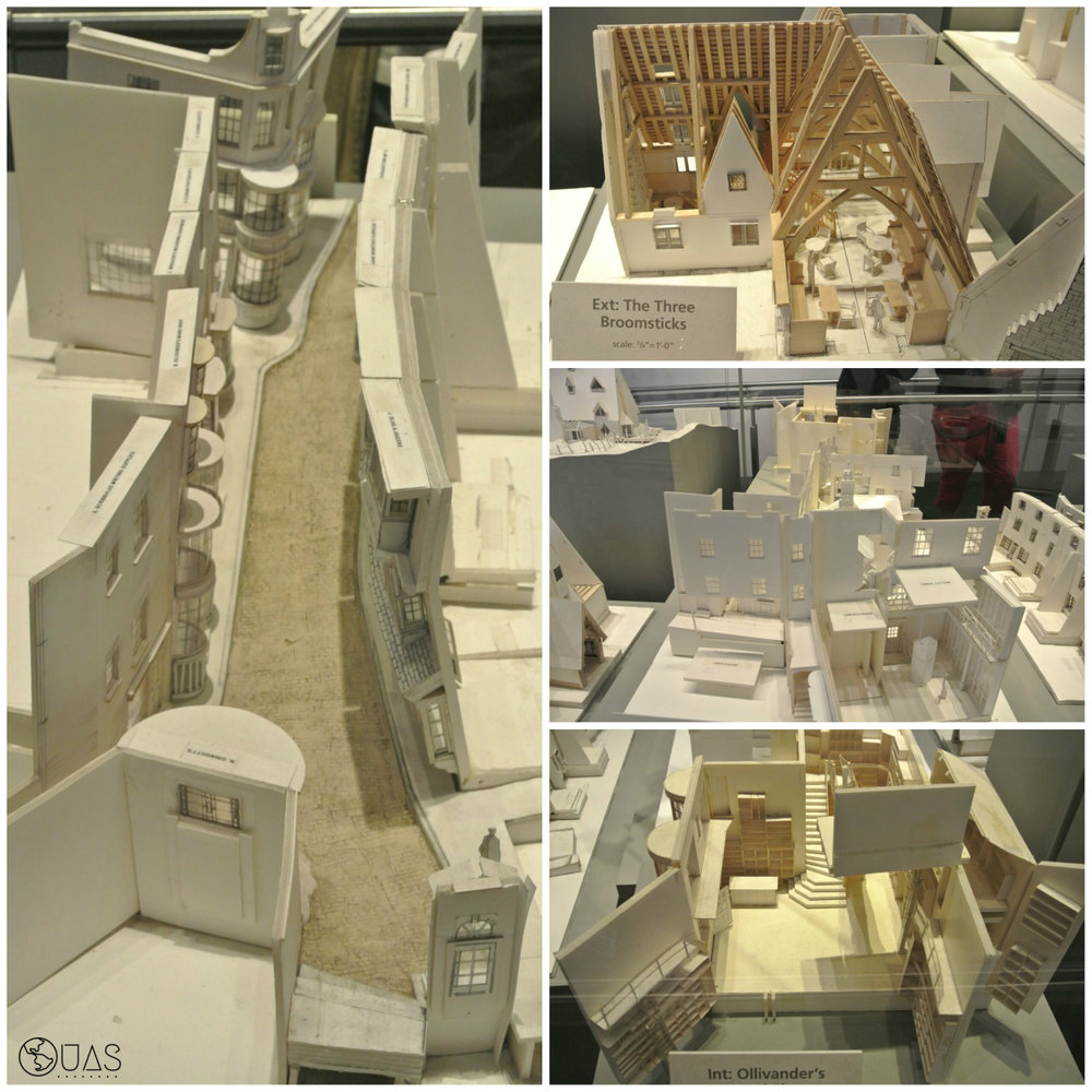 Paper models - Diagon Alley/Knockturn Alley