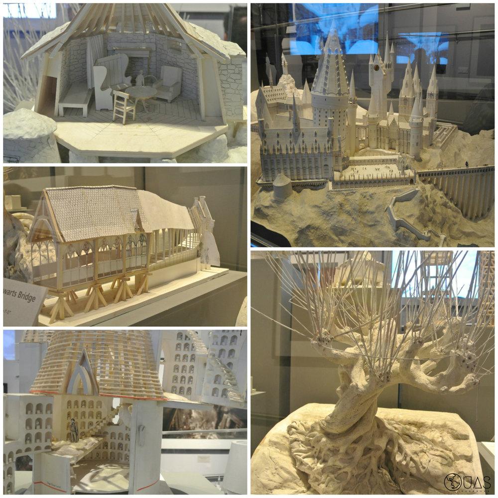 Paper models - Hogwarts grounds