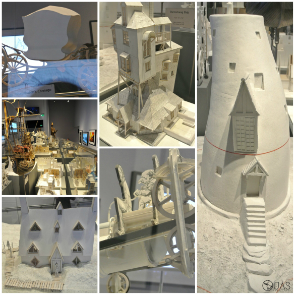 Paper models - houses & vehicles
