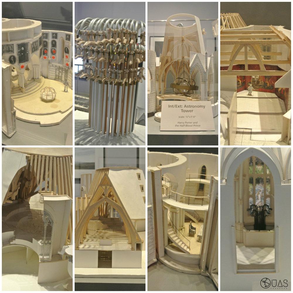 Paper models - inside Hogwarts
