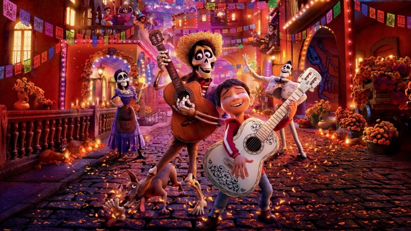 4/ Never underestimate the power of music: Disney-Pixar's 'Coco' - Drawing connections from last year's Best Animated Feature to my own music therapy practice working with individuals with dementia/memory loss, and in palliative care.