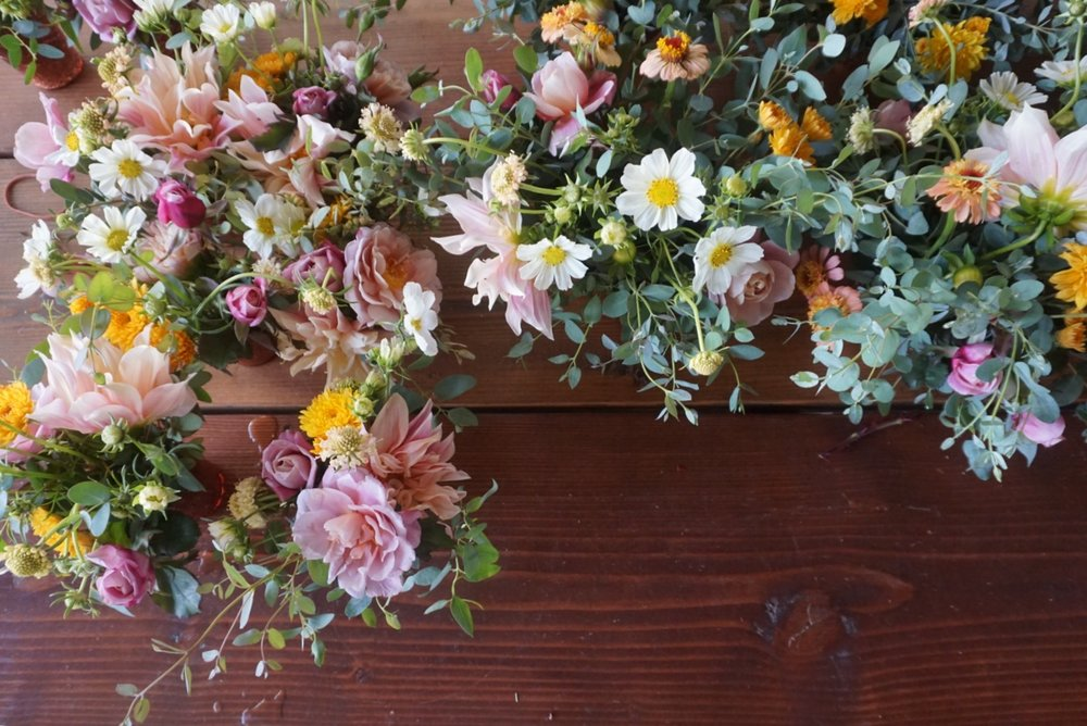 + One Part Floral Donation Program - Left over wedding florals are donated to Bay Area hospice patients and community members who are suffering the loss of a loved one.