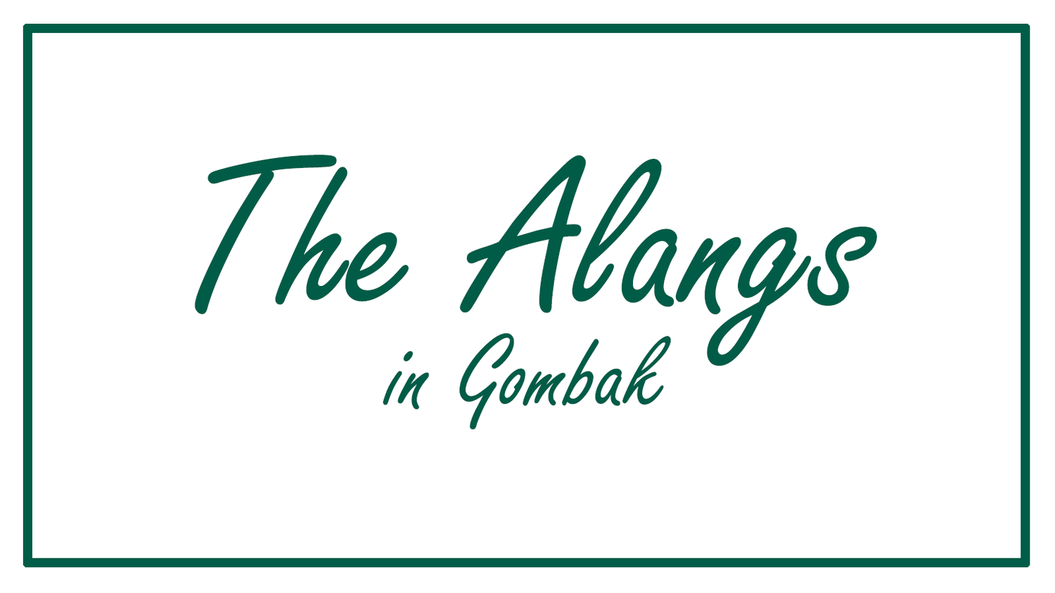 The Alangs in Gombak