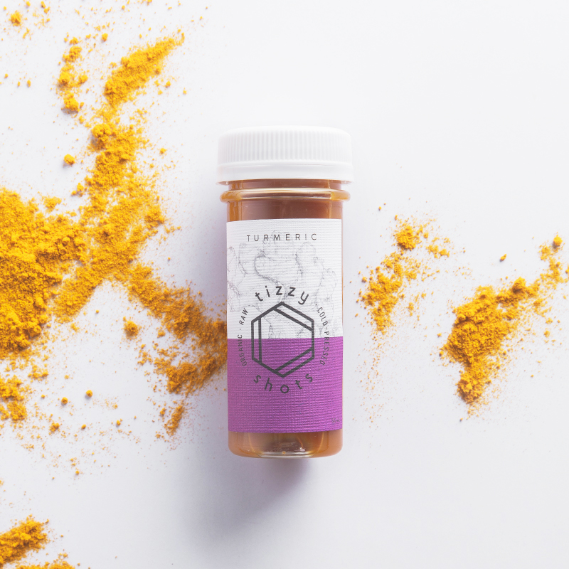 Tizzy Shots flavor Turmeric