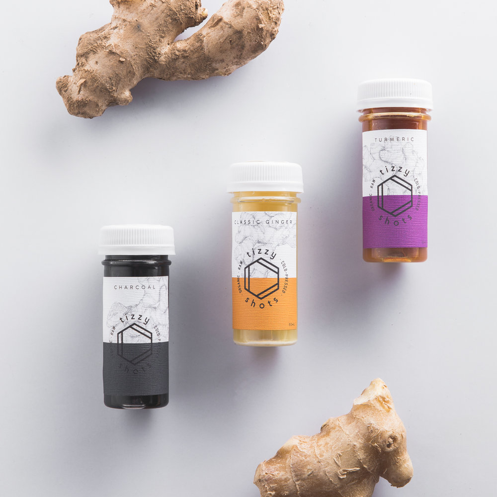 Choose from our 3 flavors of Classic Ginger, Turmeric and Activated Charcoal