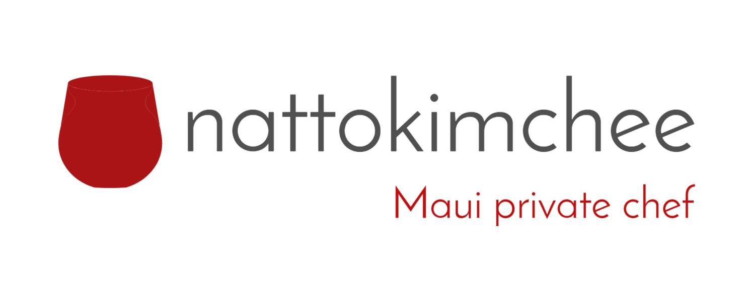 Maui Private Chef : nattokimchee