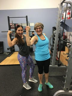 "In her time as a personal trainer, Julianna has learned that each client comes in at a different place, with different goals and needs. ""It's so important to take the time to figure that out and find ways to encourage each client,"" She says. ""That really is the best way to get long term results!"""