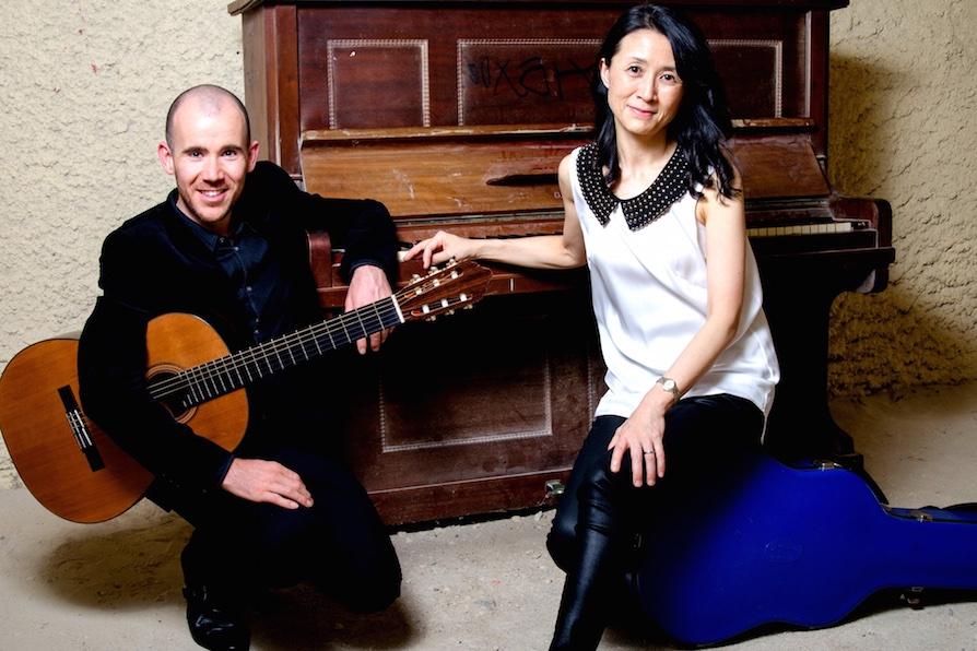 mimi duo: Duncan Gardiner &Setsu Masuda
