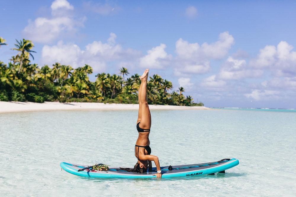 SUP/SUP yoga -