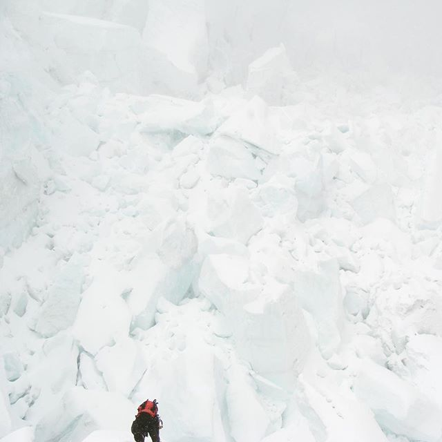 Descending through the Icefall for the last time! The challenge of navigating through this maze of ice without a doubt one of my favourite parts of climbing Everest! . . . . . . #MountEverest #WorldRecord #Icefall  #Everest #MtEverest #Mountains #EverestBaseCamp #BaseCamp #Trek #SevenSummits #7summits #Explore #Adventure #Climb #Climbing #Trekking #Travel #Mountaineering #Youngest #Altitude #Hike #Himalayas #LifeGoals #travelwithme #neverstop #deathzone #thinair