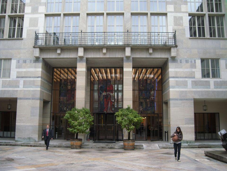 Eingang des Kunstmuseums