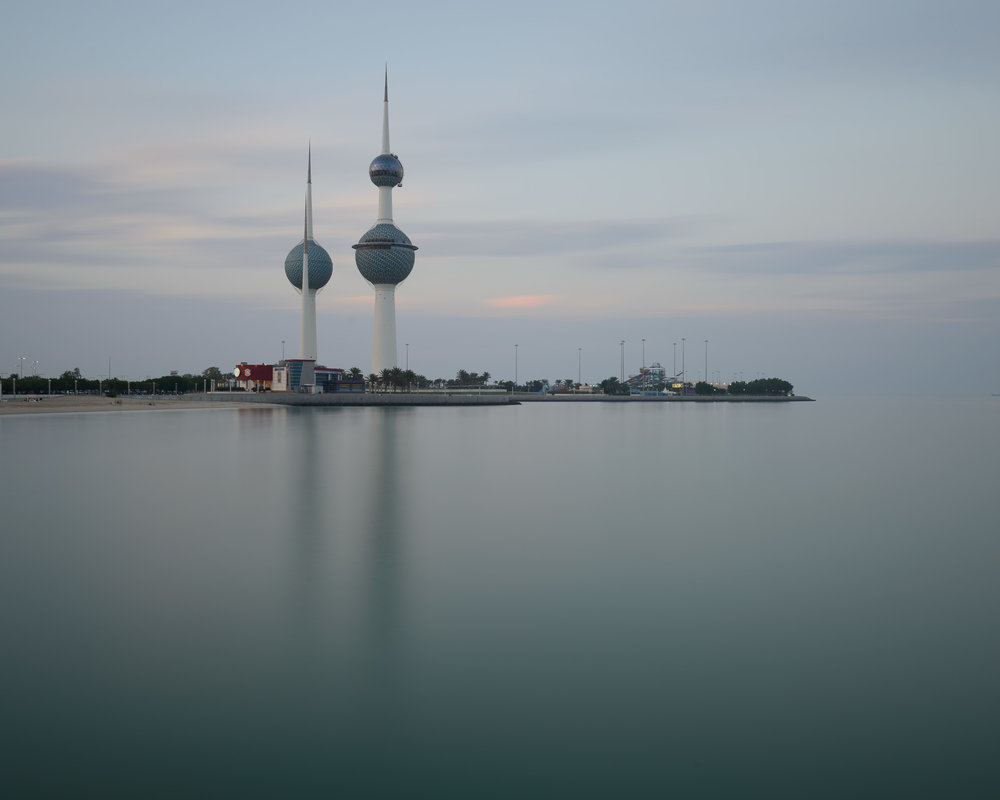 Kuwait Towers Reflections.jpg