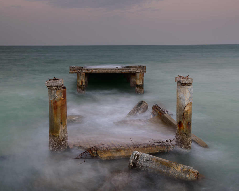 PIer in the Sea, Mahboula.jpg