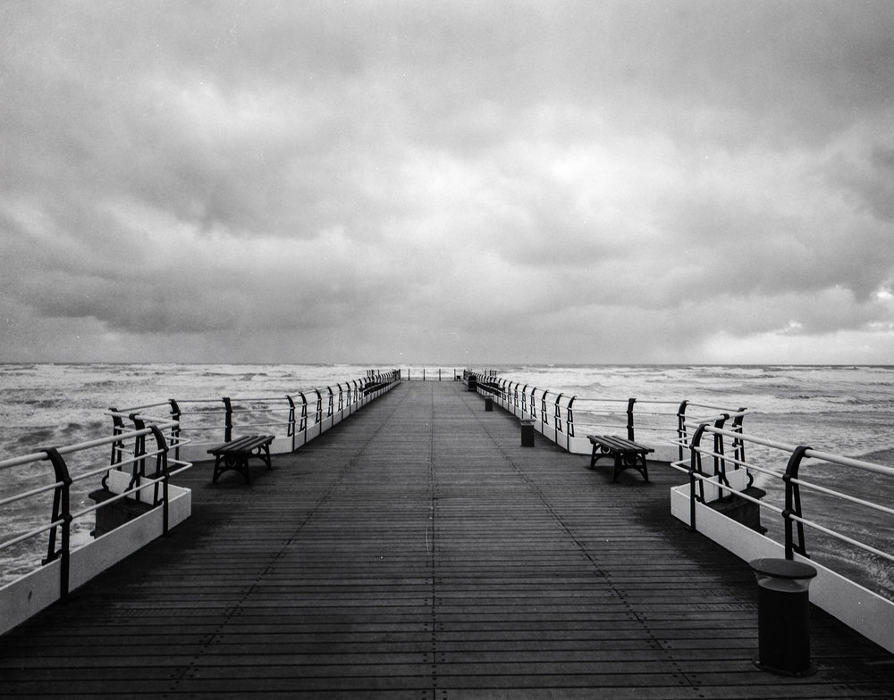 Saltburn Pier (Rough Sea)