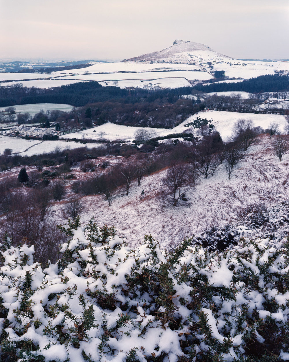 Looking Towards Roseberry Topping (Snow)