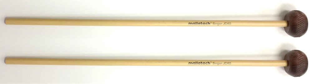 "The Malletech Go2 Series presents the Jon Singer Rosewood Xylophone Mallet. Jon has used wooden mallets on his xylophone for many years and found that he liked the heads best after the fibers started to break down. Malletech has found a way to ""pre-stress"" the surface to get to that perfect, slightly softer attack right out of the bag.  Unlike many ""rosewood"" mallets that are really other species of wood, these are made from marimba bars that didn't make the grade in Malletech's instrument department.  1-1/4-inch diameter certified Dalbergia Stevensoni Honduran Rosewood heads  7.5 to 8 mm diameter rattan  Available from Steve Weiss Music at:   https://www.steveweissmusic.com/product/malletech-go2-series-js40-jon-singer-custom-rosewood-xylophone-mallets/malletech-mallets#full-description"