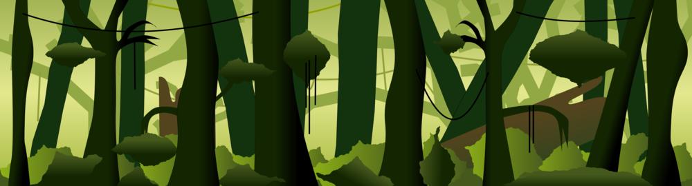 A proper dense jungle.