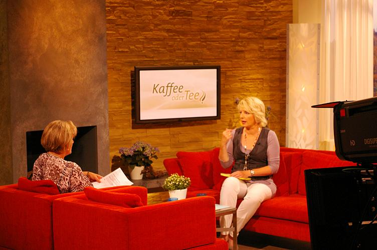 """TV-Auftritt bei """"Kaffee oder Tee"""""""