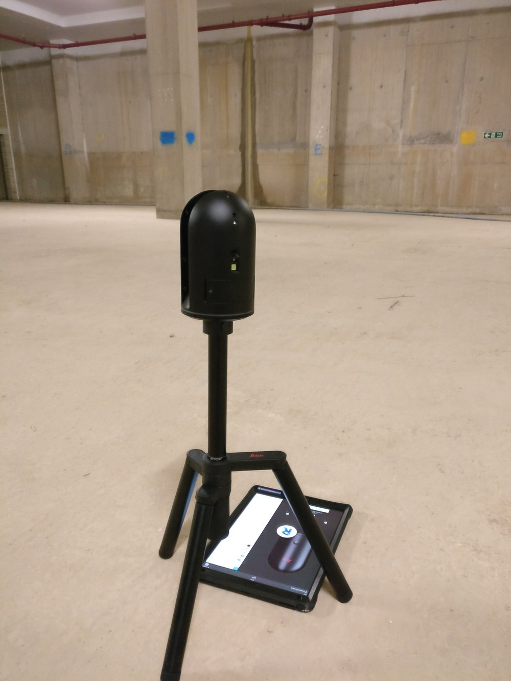 Laser scanning with Islington Square site