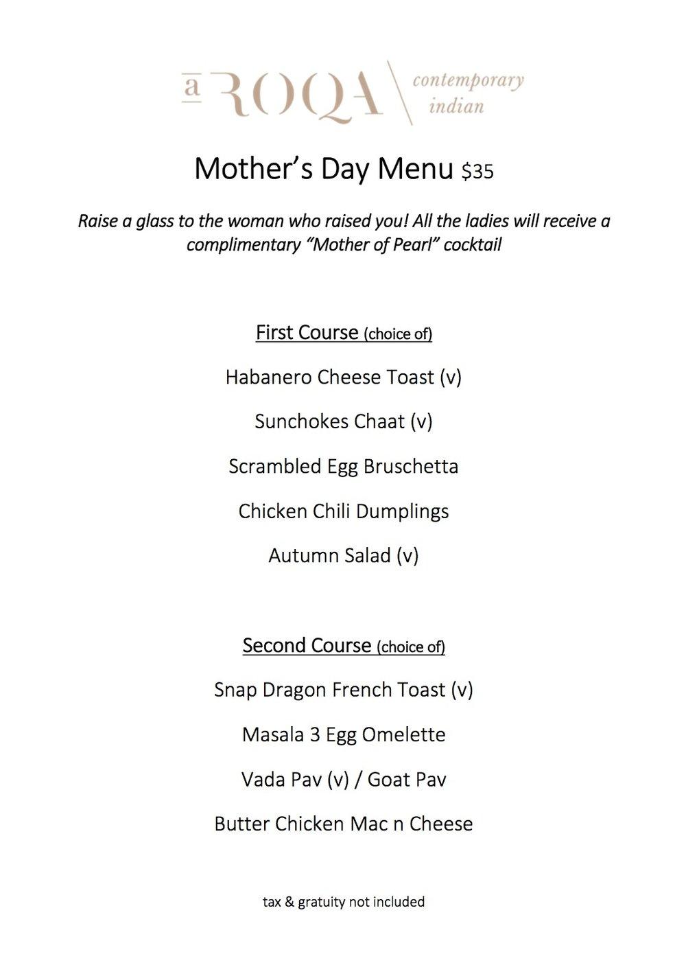 Mother's Day Brunch -