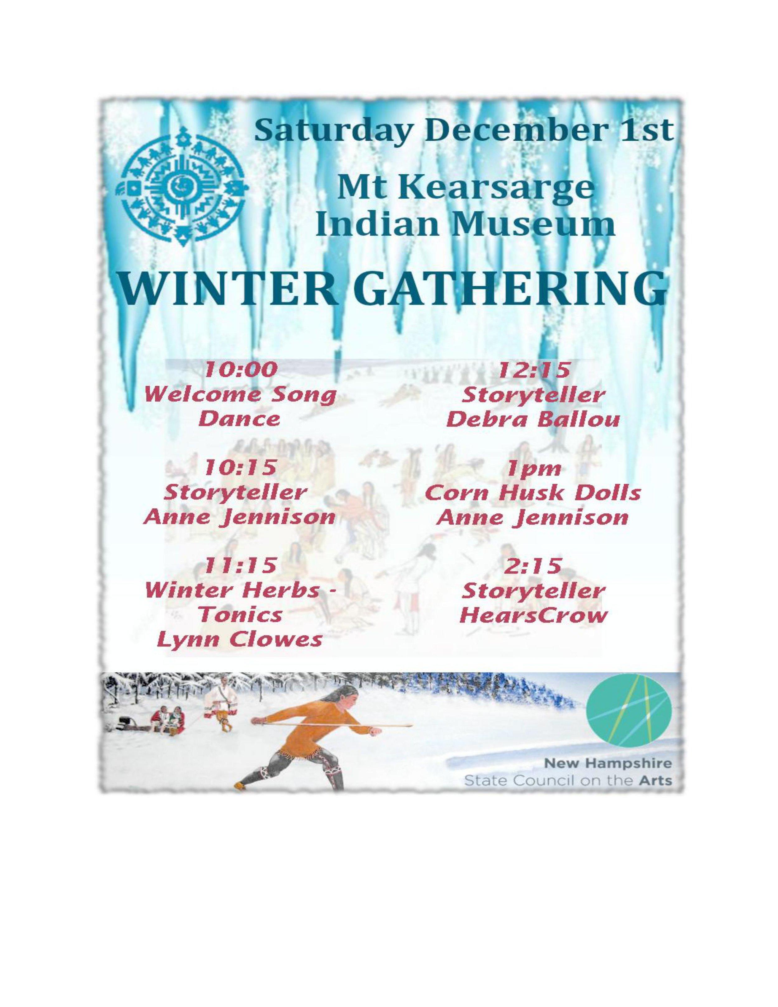 Calendar — Mt  Kearsarge Indian Museum
