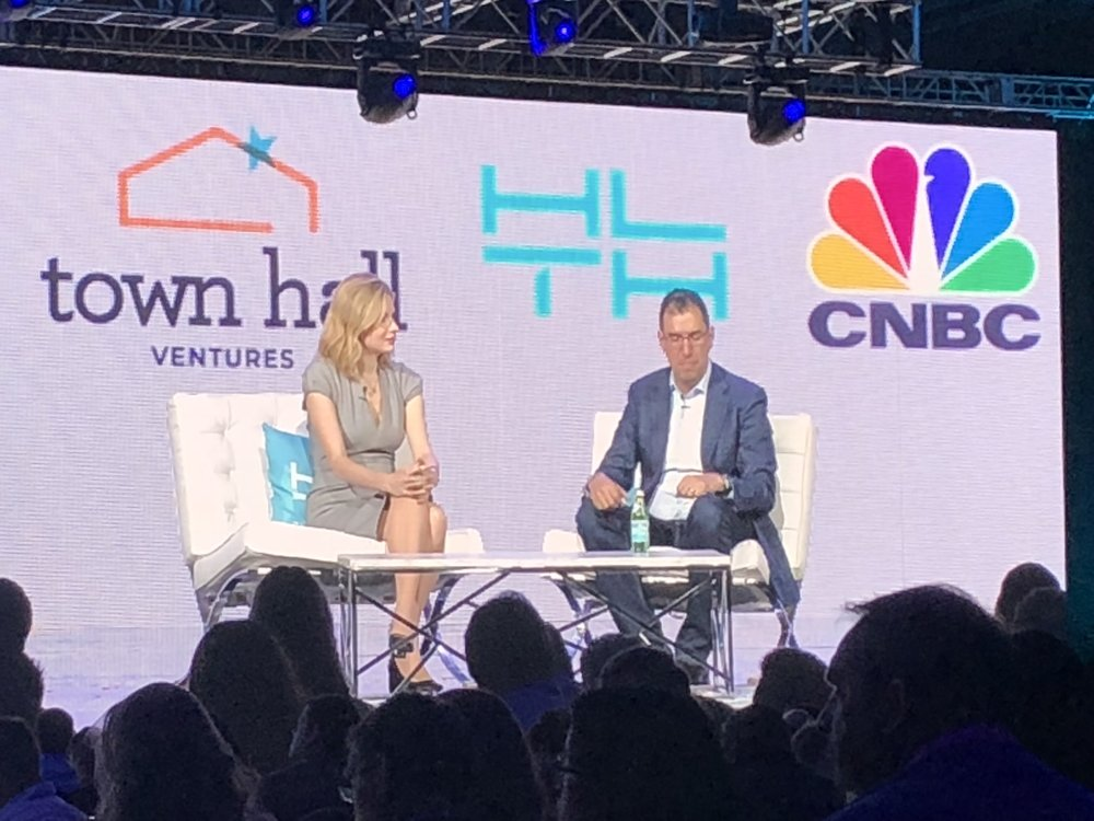 Chrissy Farr  (CNBC) interviews  andy slavitt  (Founder/GP, Town Hall Ventures)