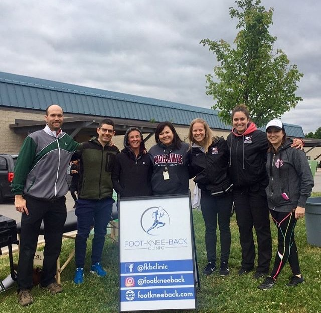 You're looking at the medical team for this past Ancaster Mill Race! We were at the finish line making sure everyone finishing the race was doing well! Congratulations to everyone who ran!
