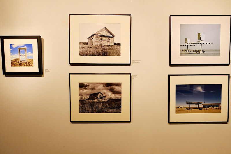 Several Photographs in the  Forsaken Exhibition , including my photograph  American Dream  (bottom left).