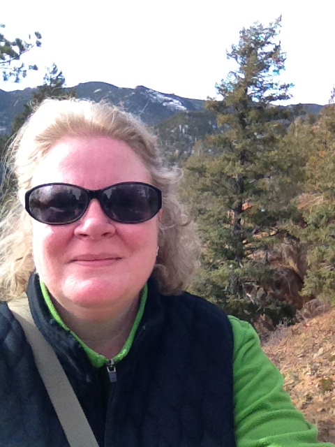 A bad selfie on the summit above Red Rocks.