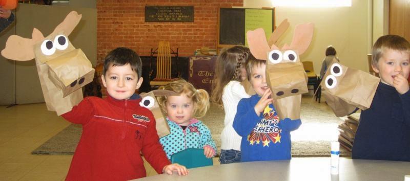 pre-school storytime -