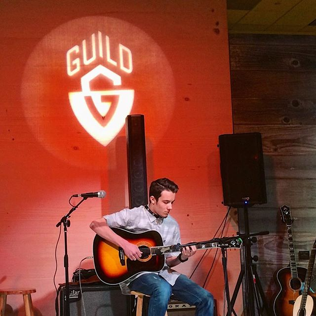 Second set at Guild/Córdoba! #namm2018 #guildguitars #cordoba