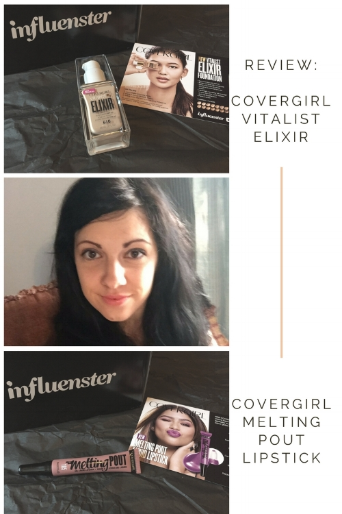 Review: Covergirl Vitalist Elixir Foundation and Melting Pout Liquid Lipstick