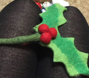 Wool Holly Cat toy from Meowbox