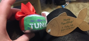 Tuna Cat toy from Meowbox