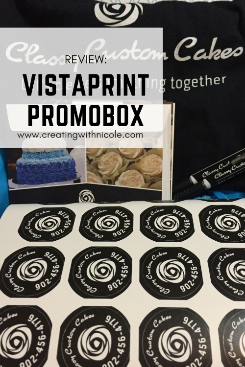 Review: Vistaprint promobox