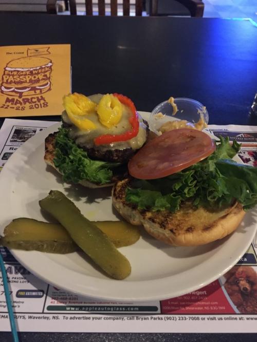 Dave Dolittle's Burger week burger