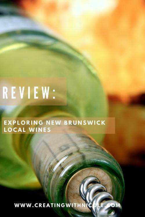 Local New Brunswick Wine review