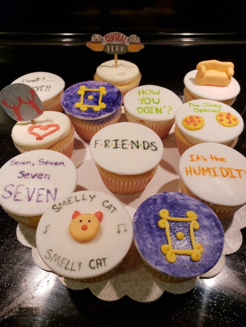 FRIENDS inspired cupcakes
