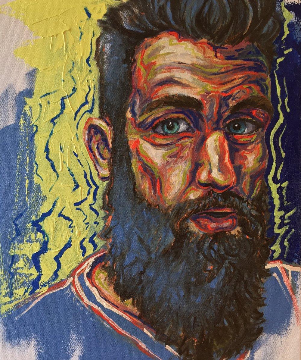 Chris: Portrait Study