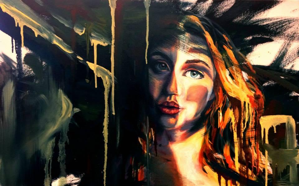 Light Flood: Self Portrait