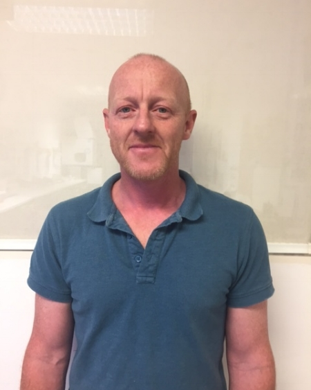John Paul Massie - Our Senior fitter who specialises in Awnings and shutters and has City and Guilds Carpentry and Joinery qualification. -
