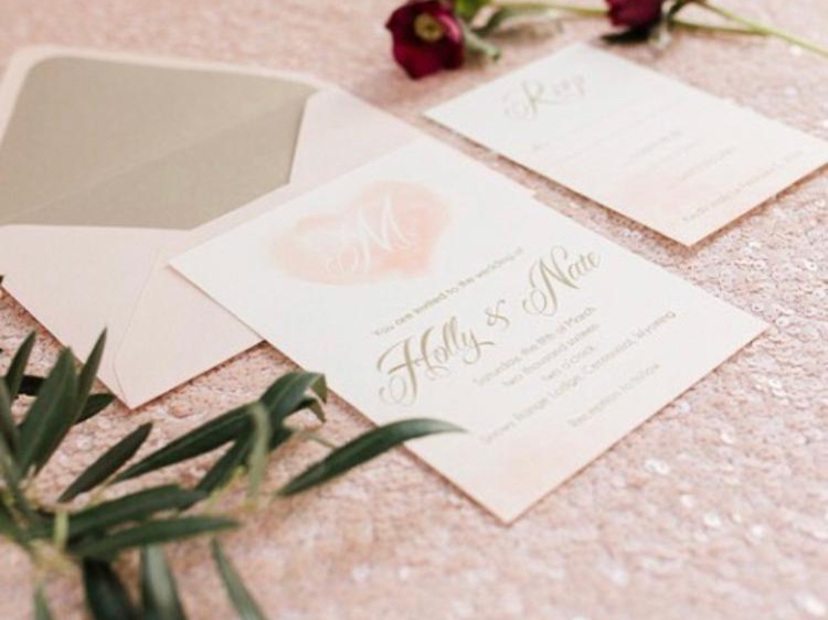 Photo by Megan Lee Photography, Invitation by Creative By Me