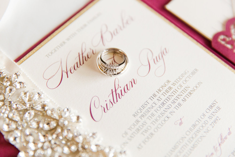 Burgundy And Gold Wedding Invitations: Burgundy And Gold Laser Cut Pocket Wedding Invitation
