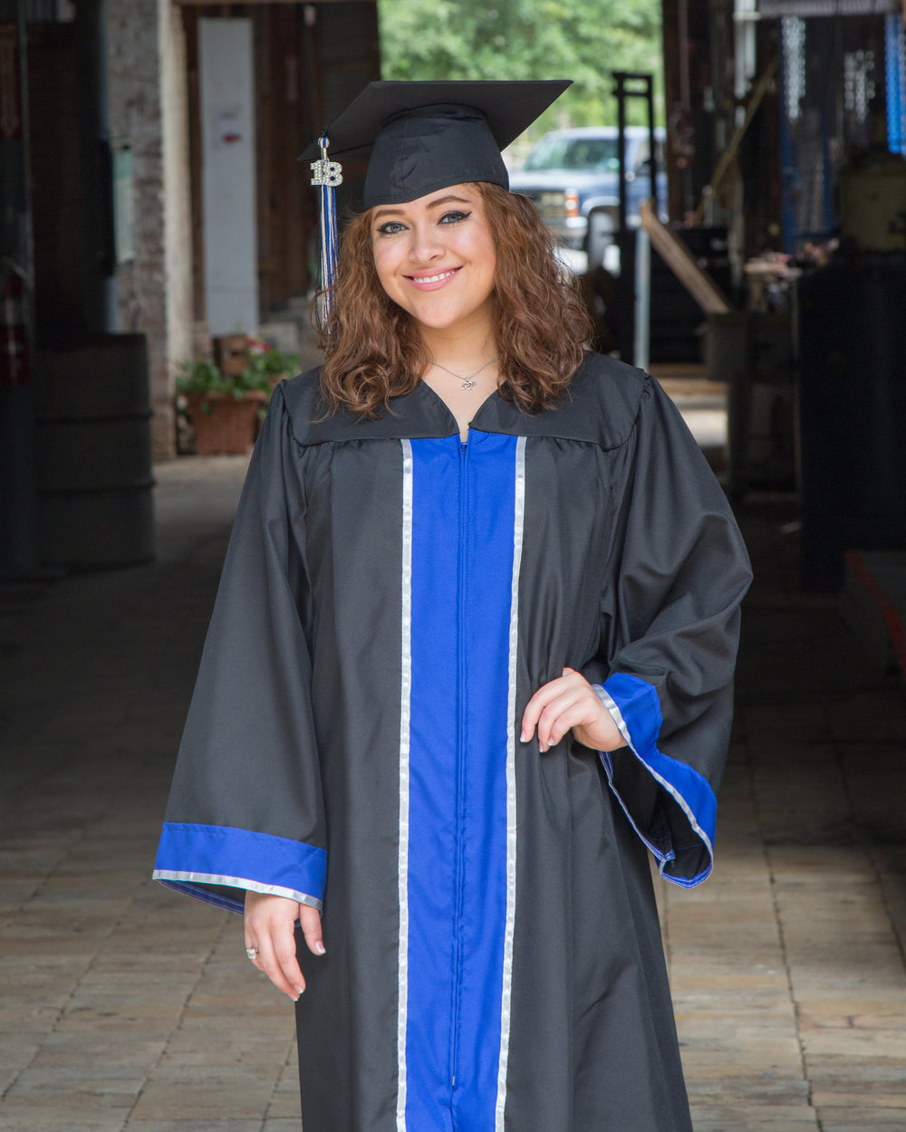 Graduation Photoshoot Cap and Gown