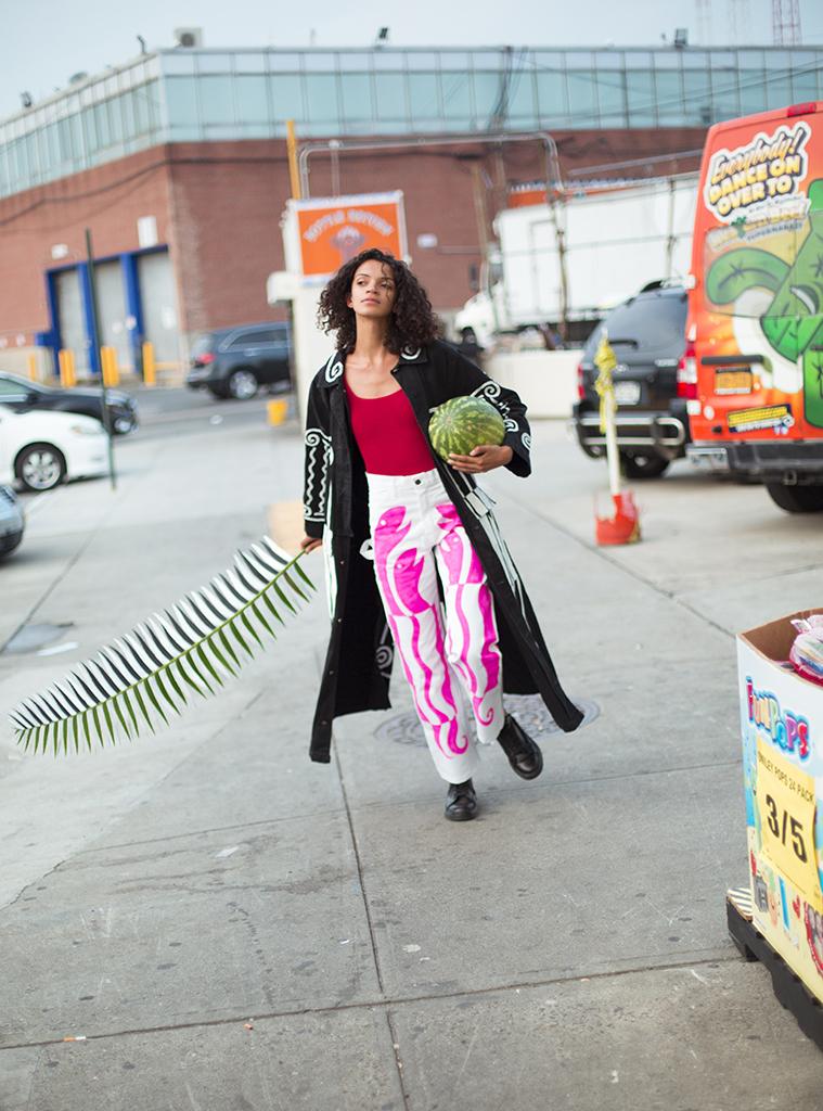 Photo:  Franey Miller   Model:  Milliana Maalim   Styling:  Sophie Parker