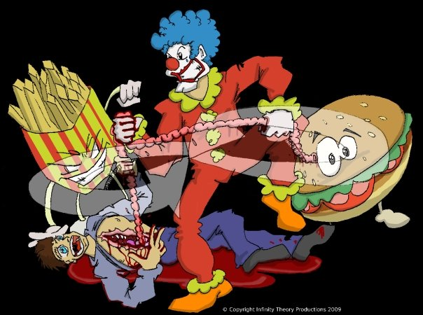Happy Clown Burger