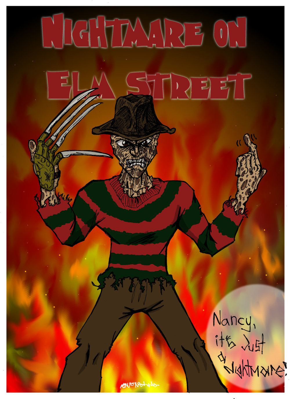 1,2, Freddy's coming for you...