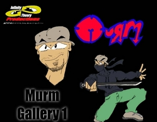 Murm Gallery 1 - Paperback - This book is the second by the artist known as Murm Von Styles. This Collection of works is a cross section of works produced since the late 90's