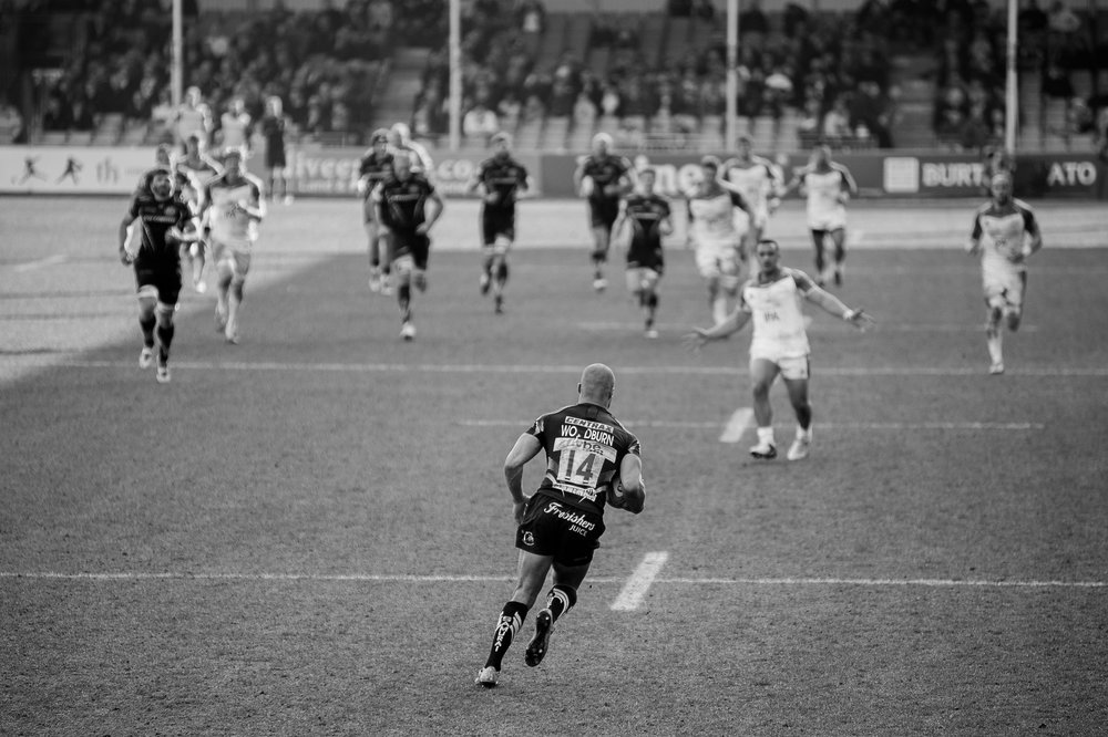 James A Photography - Exeter Chiefs Rugby Club